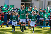 2nd February 2020; Energia Park, Dublin, Leinster, Ireland; International Womens Rugby, Six Nations, Ireland versus Scotland; Ciara Griffin (c) of Ireland leads her team onto the pitch