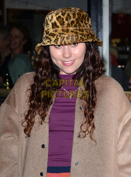 LONDON, ENGLAND - FEBRUARY 24: Eliza Doolittle attends the Opening Night of 'A to Z of Mrs P' at the Southwark Playhouse on February 24, 2014 in London, England.<br /> CAP/MB/PP<br /> &copy;Michael Ball/PP/Capital Pictures