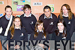 Killarney Community College pupils who received Academic awards at their annual awards night on Thursday night front row l-r: Marie Salova, Daria Sitllik, Paula O'Sullivan. Back row: Eoin Fitzgerald, Robert Cussen, Esidor Pashaj and Marguerite Brosnan..