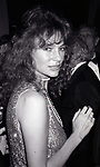 Jacqueline Bisset attends the Friars Club honored Cary Grant as their Man of the Year on May 16, 1982 at the Waldorf Astoria in New York City.