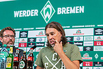 01.09.2019, wohninvest WESERSTADION, Bremen, GER, 1.FBL, Werder Bremen vs FC Augsburg<br /> <br /> DFL REGULATIONS PROHIBIT ANY USE OF PHOTOGRAPHS AS IMAGE SEQUENCES AND/OR QUASI-VIDEO.<br /> <br /> im Bild / picture shows<br /> Martin Schmidt (Trainer / Head Coach FC Augsburg) bei PK / Pressekonferenz nach Spielende, <br /> <br /> Foto © nordphoto / Ewert