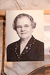 Photograph of Florence Hancock ( 1893-1974) campaigner for workers' rights, with permission of Chippenham museum, Wiltshire, England, UK