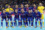 League LNFS 2017/2018 - Game 10.<br /> FC Barcelona Lassa vs CA Osasuna Magna: 3-3.