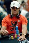 Chip leader Felipe Ramos