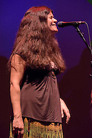 Kat Walkerson with acoustically speaking opening for The Gracia Project. The Ridgefield Playhouse on June 27, 2015.