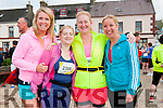 Karen O'Carroll, Ailish Hughes, Ethel Meehan and Carol O'Hanlon (all from Tralee) at the start of the Dingle Marathon on Saturday.