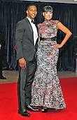 Victor Cruz and Elaina Watley arrive for the 2013 White House Correspondents Association Annual Dinner at the Washington Hilton Hotel on Saturday, April 27, 2013..Credit: Ron Sachs / CNP.(RESTRICTION: NO New York or New Jersey Newspapers or newspapers within a 75 mile radius of New York City)