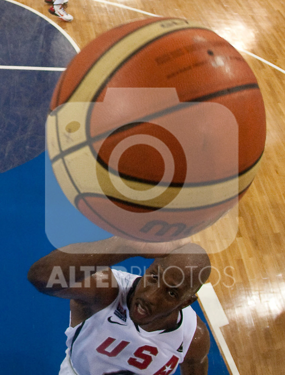 30.08.2010, Abdi Ipekci Arena, Istanbul, TUR, 2010 FIBA World Championship, USA vs Brasil, im Bild .Chauncey Billups of USA during the Preliminary Round - Group B basketball match. EXPA Pictures © 2010, PhotoCredit: EXPA/ Sportida/ Vid Ponikvar *** ATTENTION *** SLOVENIA OUT!
