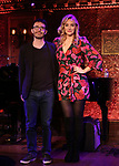 "Andrew Resnick and Betsy Wolfe performing a press preview of  ""Betsy Wolfe - All Bets Are Off""  at Feinsteins/54 Below on February 21, 2019 in New York City."