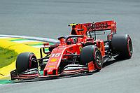 16th November 2019; Autodromo Jose Carlos Pace, Sao Paulo, Brazil; Formula One Brazil Grand Prix, Qualifying Day; Charles Leclerc (MON) Scuderia Ferrari SF90 - Editorial Use