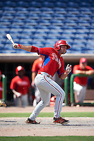 Philadelphia Phillies Josh Stephen during an Instructional League game against the New York Yankees on September 27, 2016 at Bright House Field in Clearwater, Florida.  (Mike Janes/Four Seam Images)