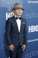 "LOS ANGELES _ JUN 4:  Javon Walton at the LA Premiere Of HBO's ""Euphoria"" at the Cinerama Dome on June 4, 2019 in Los Angeles, CA"