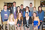 Niamh O'Connell Castleisland who celebrated her 18th birthday with her friends at her home on Saturday night front row l-r: Ashley Healy, Niamh O'Connell, Amy Nolan. Back row: Eoin Murphy, Timothy O'Connell, Grainne Bergen, Shane O'Connor, Elaine O'Connor, Sean Nolan, Megan Hartnett and Rachel Templeman ..