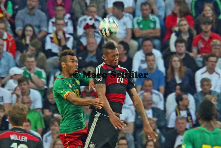 Eric-Maxim Choupo-Moting (CAM) gegen Jerome Boateng (D) - Deutschland vs. Kamerun, Mönchengladbach
