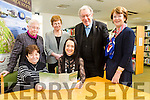 Kerry Archaeological and Historical Society celebrating 50 years with their Golden Jubilee seminar starting February 14th  at the Kerry LIbrary Tralee. Pictured at the Kerry LIbrary Tralee   members  front l-r  Kathleen Brown, Marie O'Sullivan, Society President, Back l-r Maureen Hanafin, Pegi Ni Sheaghdha ,  Fr. Tomas B. O'Luanaigh Ann Myles