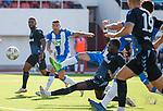 09.07.2019: St Joseph's v Rangers: Sheyi Ojo comes close