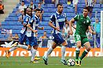 League Santander 2017-2018 - Game: 2<br /> RCD Espanyol vs CD Leganes: 0-1.<br /> Javi Fuego vs Omar Ramos.