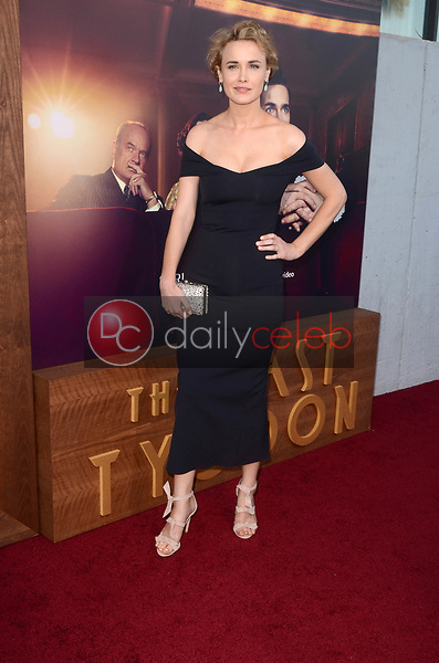 "Dominique McElligott<br /> at ""The Last Tycoon"" Red Carpet Premiere Screening, Harmony Gold Theater, Los Angeles, CA 07-27-17<br /> David Edwards/DailyCeleb.com 818-249-4998"