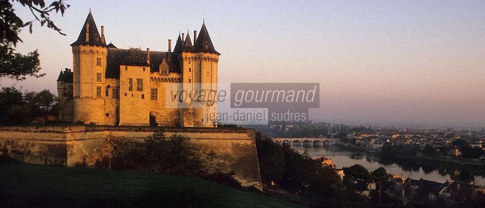 Europe/France/Pays de la Loire/Maine-et-Loire/Saumur : Le Château de Saumur