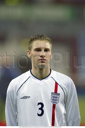 CHRIS CARRUTHERS, ENGLAND U20 0 v Switzerland U20 2, UPTON PARK 021212 Photo:Glyn Kirk/Action Plus...2002.Football soccer.portrait..