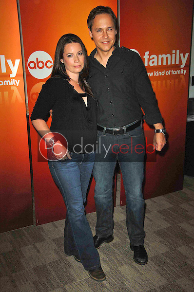 Holly Marie Combs and Chad Lowe<br /> at the Disney ABC Television Group Summer Press Junket, ABC Studios, Burbank, CA. 05-15-10<br /> David Edwards/Dailyceleb.com 818-249-4998