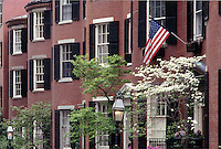 Louisburg Square Beacon Hill Boston MA