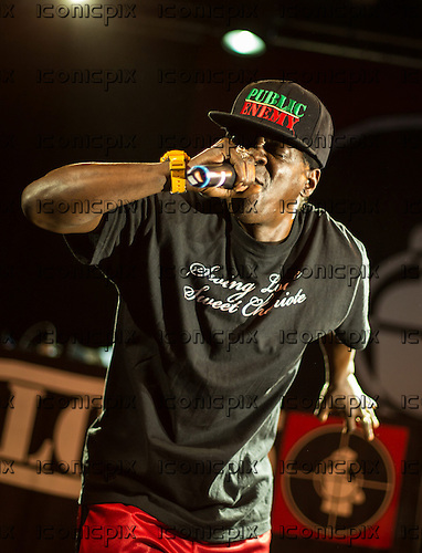 Public Enemy - rapper and vocalist Flavor Flav - performing live at Electric Brixton in London UK - 07 June 2014.  Photo credit: Iain Reid/IconicPix