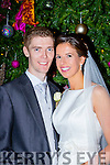 Niamh Ní Ghrifín, daughter of Matthew and Marie, Minard, Lios Póil, and Jonathan Doherty, son of John and Nuala, Glencar, who were married on Friday in Séipéal Eoin Báiste, Lios Póil. Fr Joe Begley officiated at the ceremony. Best man was John O'Donoghue and groomsmen were Brian and Gavin Doherty with Conor O'Connor. Bridesmaids were Muiríosa Ní Ghrifín with Siobhain Ní Ghrifín, Muireann O'Sullivan and Emma Dowling. Flowergirl was Ciara Doherty. Pageboys were Sean and Cormac Doherty. The reception was held in the Malton Hotel, Killarney and the couple will reside in Dublin.