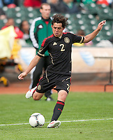 San Francisco, California - Saturday March 17, 2012: Israel Jimenez in action during the Mexico vs Senegal U23 in final Olympic qualifying tuneup. Mexico defeated Senegal 2-1