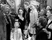 It's a Wonderful Life (1946)<br /> James Stewart, Donna Reed &amp; Thomas Mitchel<br /> *Filmstill - Editorial Use Only*<br /> CAP/KFS<br /> Image supplied by Capital Pictures