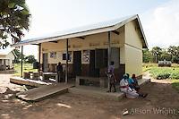 N. Uganda, Gulu District. Peter C. Alderman Foundation project. Rural clinic.