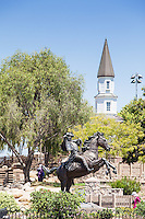 Paul Revere Statue at Heritage Park of Cerritos