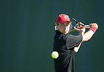 Stanford, CA - March 10, 2013.  Stanford Men's Tennis Team vs. Boise State at Taube Family Tennis Stadium...