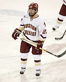 Brian O'Hanley (BC - 23) - The Boston College Eagles defeated the visiting Northeastern University Huskies 7-1 on Friday, March 9, 2007, to win their Hockey East quarterfinals matchup in two games at Conte Forum in Chestnut Hill, Massachusetts.