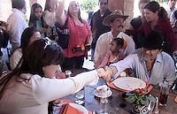 El cantante de musica popular mexicana Joan Sebastian visito el rancho de el ex presidente de  Fox y Marta Sahagún durante su visita a Lon , Guanajuato el 2 de Febrero del 2014..<br /> (*Foto:TiradorTercero/NortePhoto*)