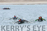 The U18 race under way during the Ventry Regatta on Sunday afternoon.