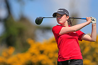 Carys Worby (WAL) during the second round of the Irish Womans Open Strokeplay Championship, Co Louth Golf Club, Baltray, Drogheda, Co Louth, Ireland. 12/05/2018.<br /> Picture: Golffile | Fran Caffrey<br /> <br /> <br /> All photo usage must carry mandatory copyright credit (&copy; Golffile | Fran Caffrey)