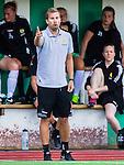 Stockholm 2015-07-11 Fotboll Damallsvenskan Hammarby IF DFF - Vittsj&ouml; GIK :  <br /> Hammarbys tr&auml;nare P&auml;r Lagerstr&ouml;m gestikulerar under matchen mellan Hammarby IF DFF och Vittsj&ouml; GIK <br /> (Foto: Kenta J&ouml;nsson) Nyckelord:  Fotboll Damallsvenskan Dam Damer Zinkensdamms IP Zinkensdamm Zinken Hammarby HIF Bajen Vittsj&ouml; GIK portr&auml;tt portrait tr&auml;nare manager coach