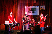 David Karsten Daniels performs at the Central Presbyterian Church during the 2008 SXSW music festival in Austin, TX.