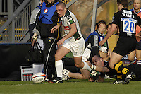 Wycombe, Great Britain, Exiles, Richie REES during the EDF Energy, Anglo Welsh, rugby Cup match, London Wasps vs London Irish,  at Adams Park, England, 08/10/2006. [Photo, Peter Spurrier/Intersport-images]....