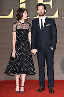 Lizzy Caplan and Tom Riley<br /> at the &quot;Allied&quot; UK premiere, Odeon Leicester Square, London.<br /> <br /> <br /> &copy;Ash Knotek  D3202  21/11/2016