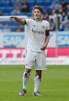 FUSSBALL  1. BUNDESLIGA  SAISON 2012/2013  2. SPIELTAG    01.09.2012 TSG 1899 Hoffenheim  - Eintracht Frankfurt Pirmin Schwegler (Eintracht Frankfurt)