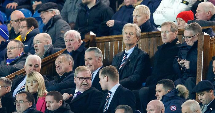John Greig, Alastair Johnston, Dave King and Douglas Park