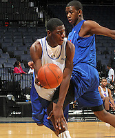 Alex Poythress at the NBPA Top100 camp June 19, 2010 at the John Paul Jones Arena in Charlottesville, VA. Visit www.nbpatop100.blogspot.com for more photos. (Photo © Andrew Shurtleff)