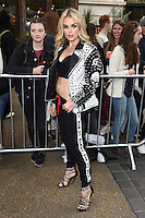 Tallia Storm<br /> arrives for the TopShop UNIQUE catwalk show as part of London Fashion Week SS17, Old Spitalfields Market, London<br /> <br /> <br /> &copy;Ash Knotek  D3155  17/09/2016