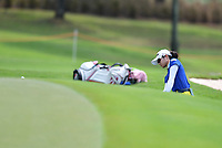 PATTAYA, THAILAND - FEBRUARY 22: Pannarat Thanapolboonyaras of Thailand pitching onto the 18th green during the second round of the Honda LPGA Thailand 2019 at Siam Country Club Pattaya (Old Course), Pattaya, Thailand on February 22, 2019.<br /> .<br /> .<br /> .<br /> (Photo by: Naratip Golf Srisupab/SEALs Sports Images)<br /> .<br /> Any image use must include a mandatory credit line adjacent to the content which should read: Naratip Golf Srisupab/SEALs Sports Images