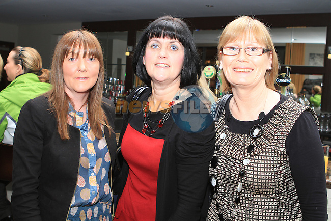 Rachel Kierans, Delores Kierans and Nancy Crickley at the Fundraiser for the New St.Mary's Parish Primary School  in the d Hotel...(Photo credit should read Jenny Matthews www.newsfile.ie)....This Picture has been sent you under the conditions enclosed by:.Newsfile Ltd..The Studio,.Millmount Abbey,.Drogheda,.Co Meath..Ireland..Tel: +353(0)41-9871240.Fax: +353(0)41-9871260.GSM: +353(0)86-2500958.email: pictures@newsfile.ie.www.newsfile.ie.