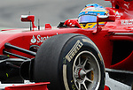 Ferrari's driver Fernando Alonso drives during a race at the Circuit de Catalunya on May 11, 2014. <br /> PHOTOCALL3000/PD