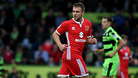 Ryan Seager of MK Dons during Forest Green Rovers vs MK Dons, Caraboa Cup Football at The New Lawn on 8th August 2017
