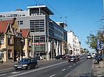 Gdynia, (woj. pomorskie) 19.07.2016. Ulica 10 Lutego, reprezentacyjna ulica Śródmieścia Gdyni.